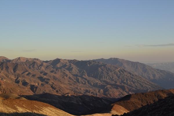 Death Valley - Dante View - La Parisienne Trotteuse