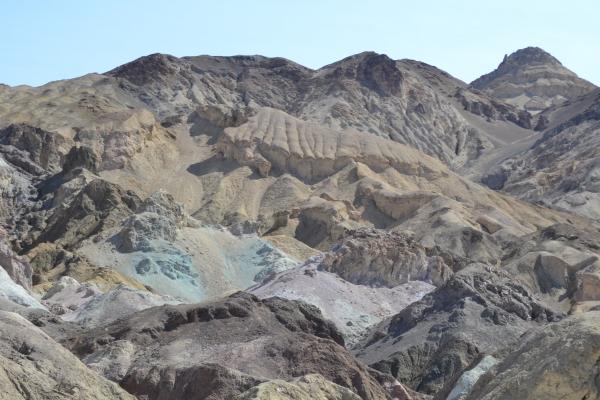 Death Valley - la palette du peintre - La Parisienne Trotteuse
