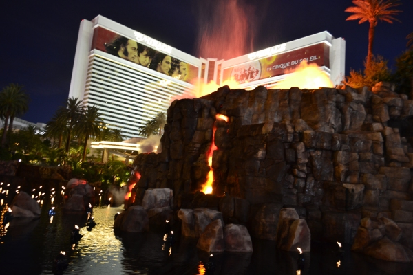 Las Vegas- The Mirage - La Parisienne Trotteuse