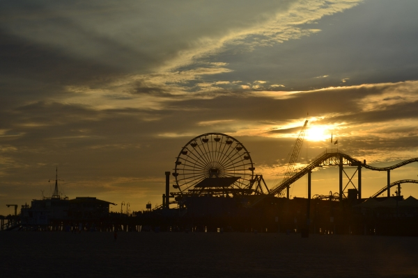 Santa Monica Pear - Los Angeles - La Parisienne Trotteuse