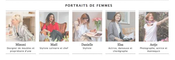 portraits de femme
